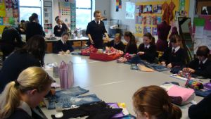 Clubs and Activities - customising denim 1