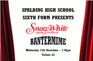 Sixth Form - Pantomime 2014