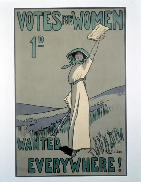 History - Votes for Women Poster