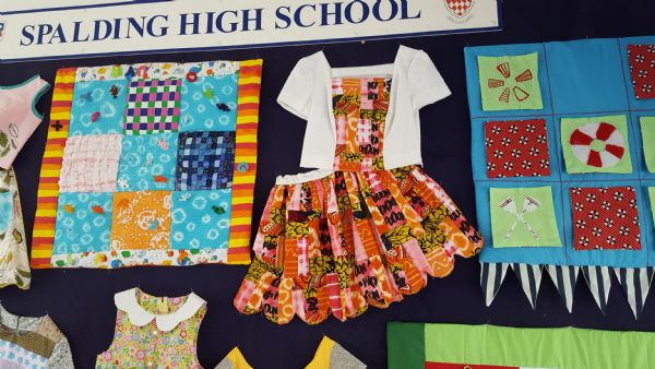 Textiles - Entrance display