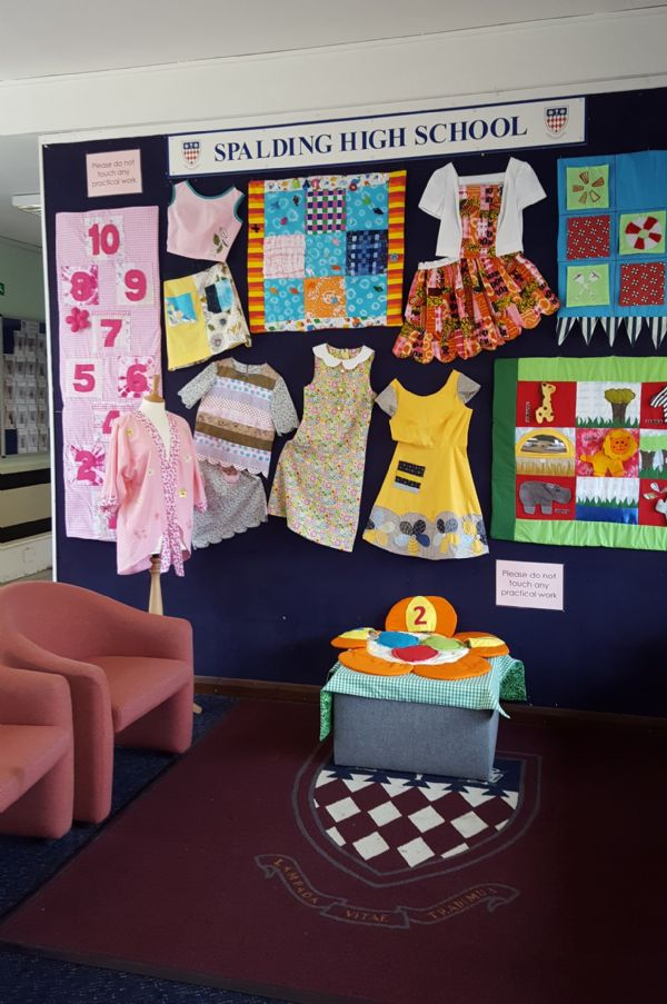 Textiles - Entrance display 1