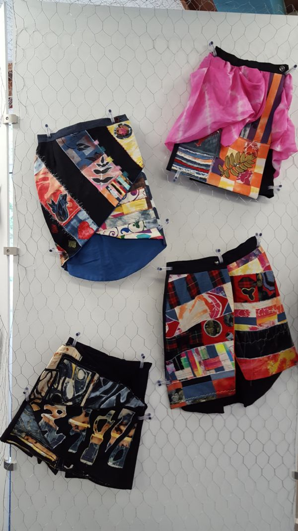 Textiles - Patterned skirts